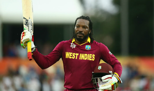 Chris Gayle goes out with a bang, 50 off record 12 balls