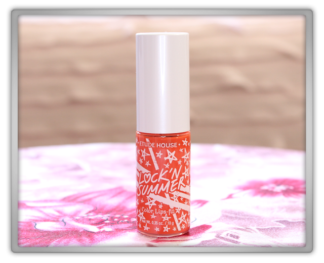 Jolse Etude House tony moly Haul Review beauty blogger LOCK'N Summer Color Lips Fit Tint OR205