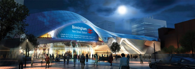 New Street Station design by Foreign Office Architects
