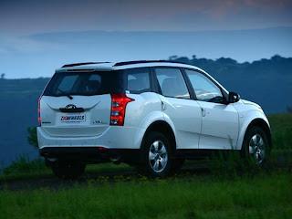 Mahindra XUV 500 rear view