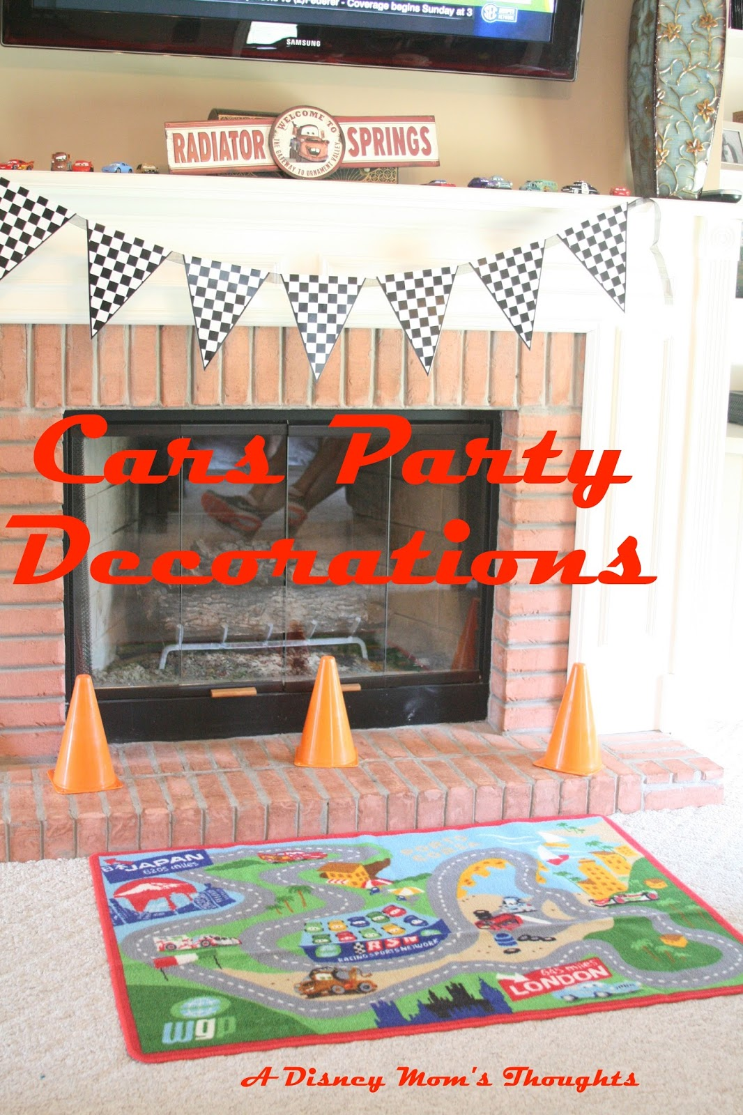 Cars Birthday Decorations A Disney Moms Thoughts A Disney Moms