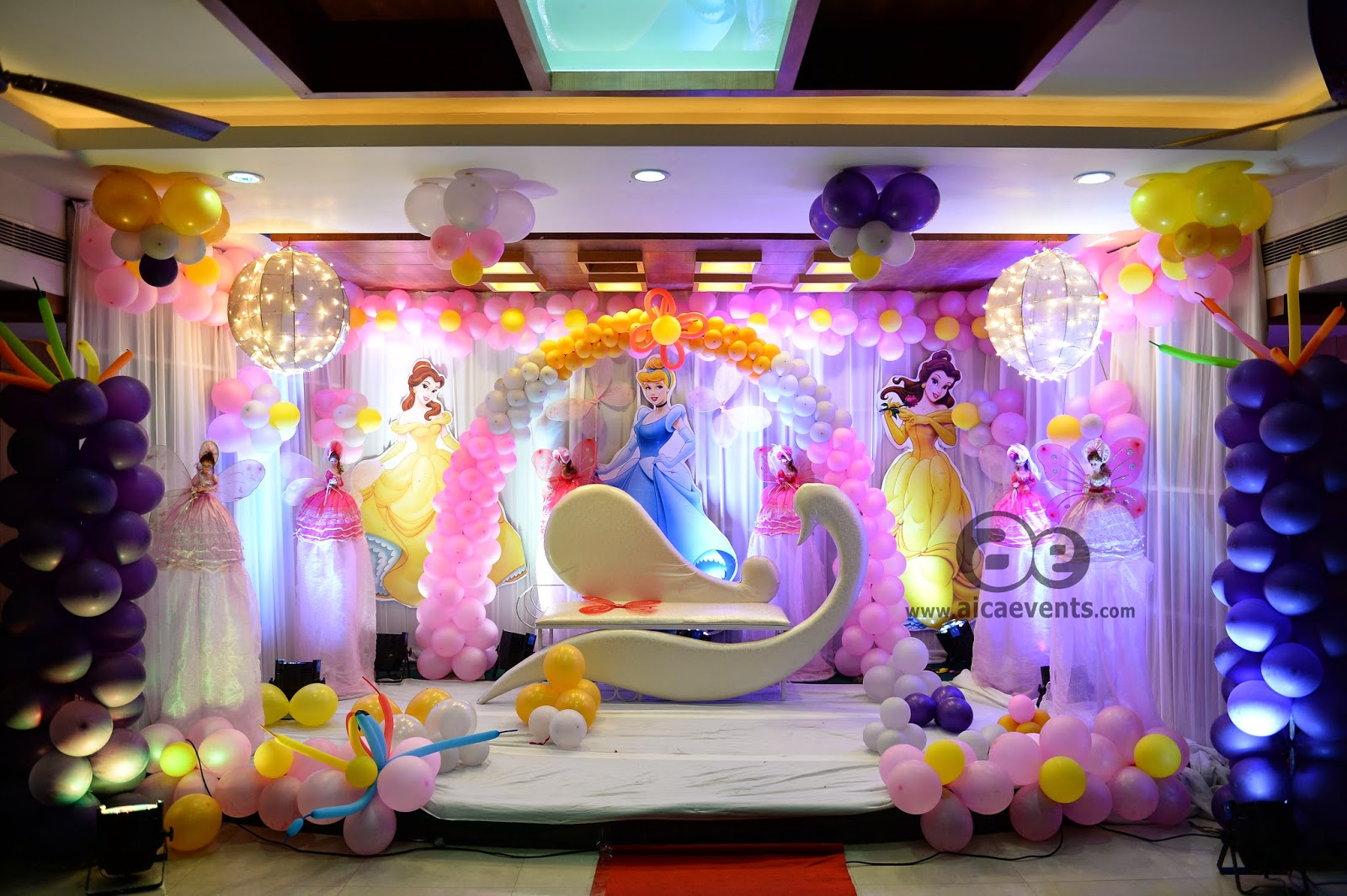 Aicaevents india barbie theme decorations by aica events for Decoration for birthday