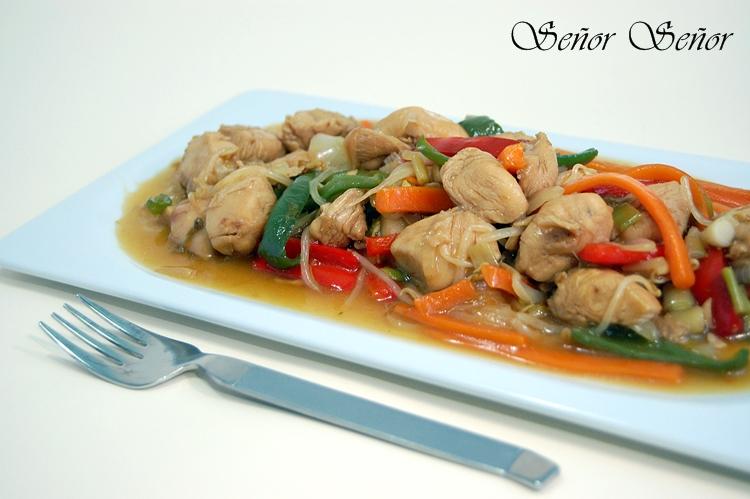 Receta De Chop Suey Casero Receta De Sergio - Recetas-de-cocina-con-pollo