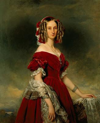 la familia irreal Louise_dorleans_1841