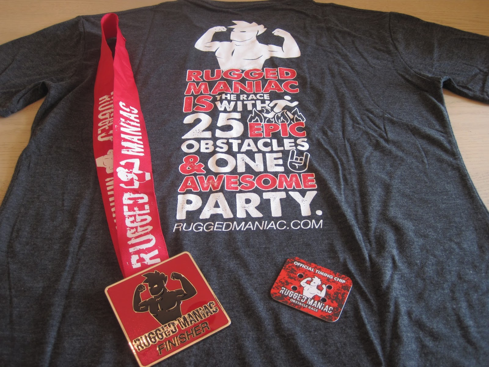And Due To All That You Ve Read In This Report I Can Say Wont Be A Wearing Shirt B Ever Calling Myself Rugged Maniac Grade