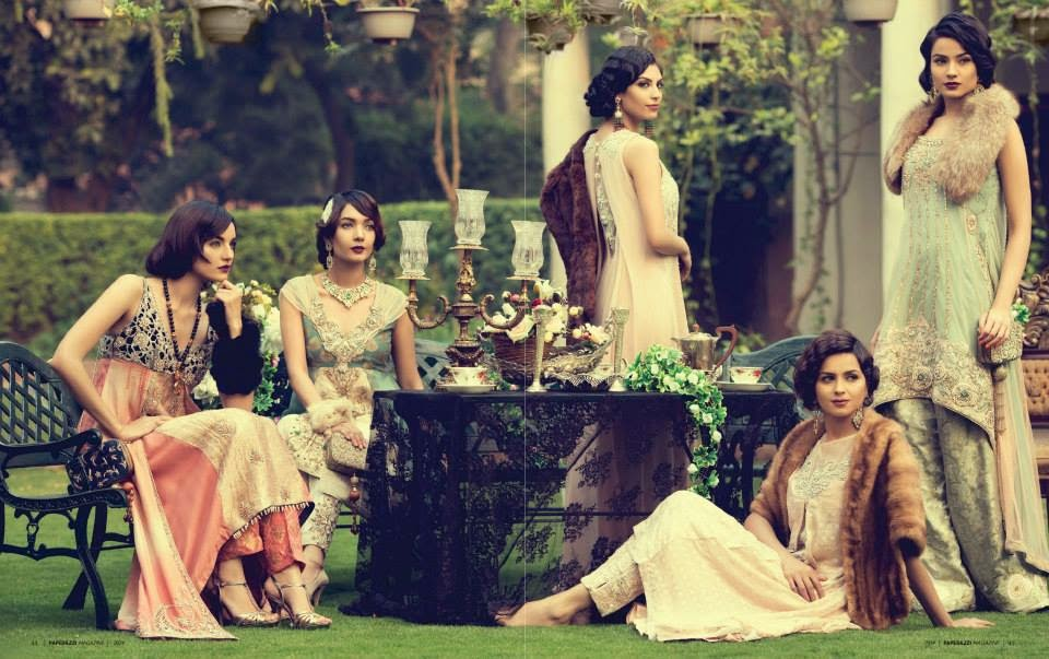 Stylepedia Nickie Nina Garden Party Wear Collection 2014