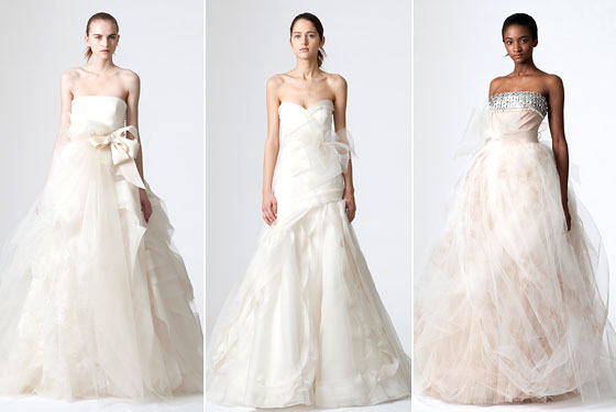The Hottest New Wedding Dress Trends by Vera Wang