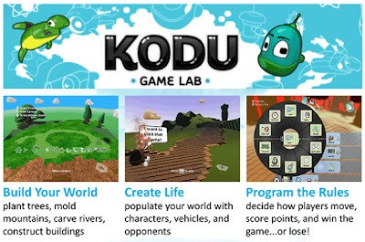 Free Technology for Teachers: Kodu Imagine Cup - Create Games and Win Prizes