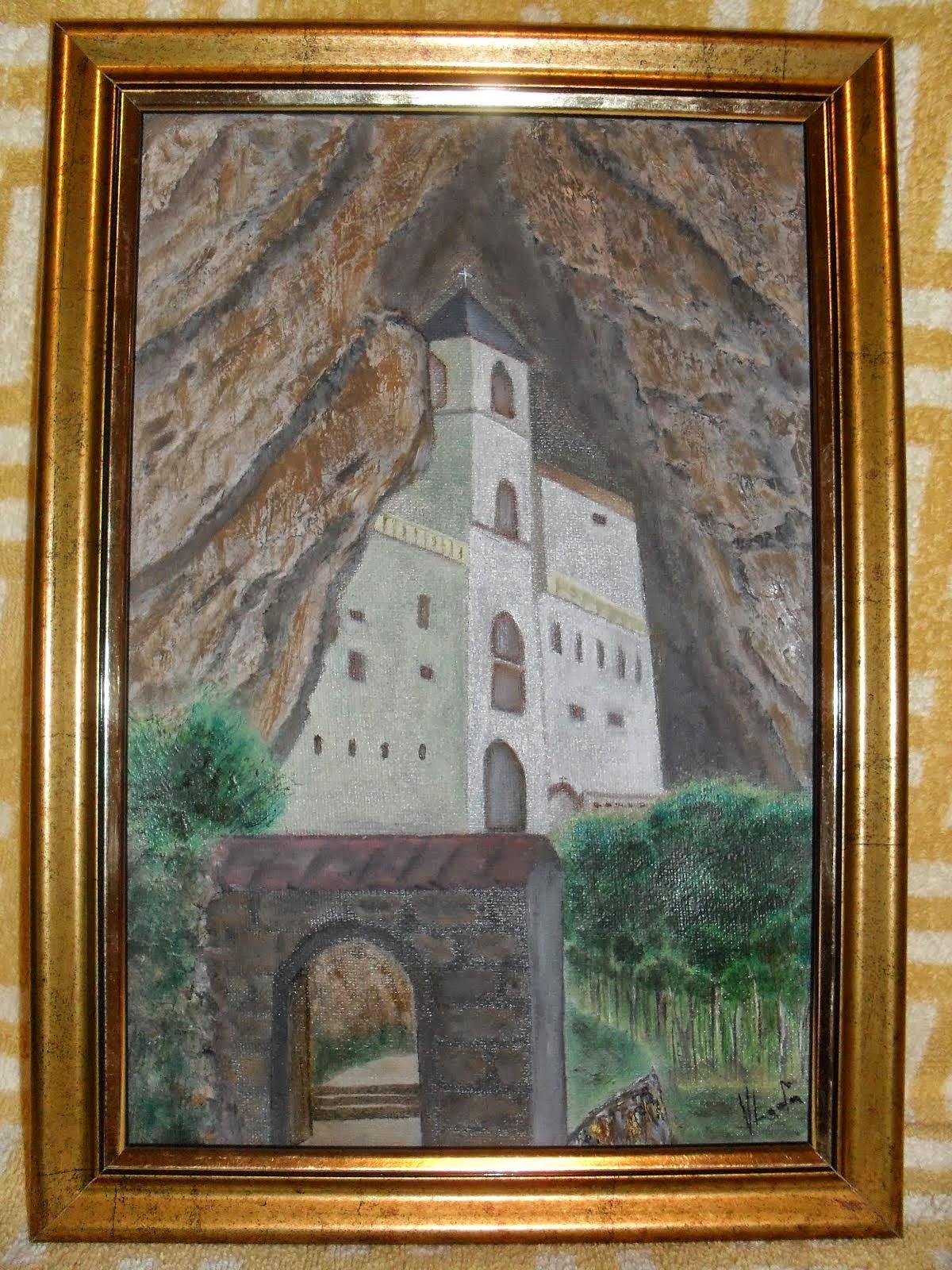 DONACIJA ZA IZGRADNJU SRPSKE PRAVOSLAVNE CRKVE U NISU-Vladisav ART Bogicevic slikar Luna-Nis
