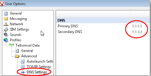 how to connect to google dns