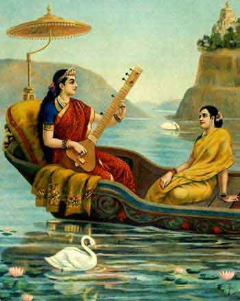 Raja Ravi Varma's Paintings: Taradevi