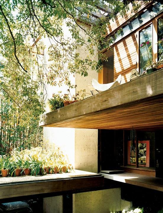 Ray Kappe und seine Haus in mehreren Ebenen – offene Bauweise versus Sicherheit