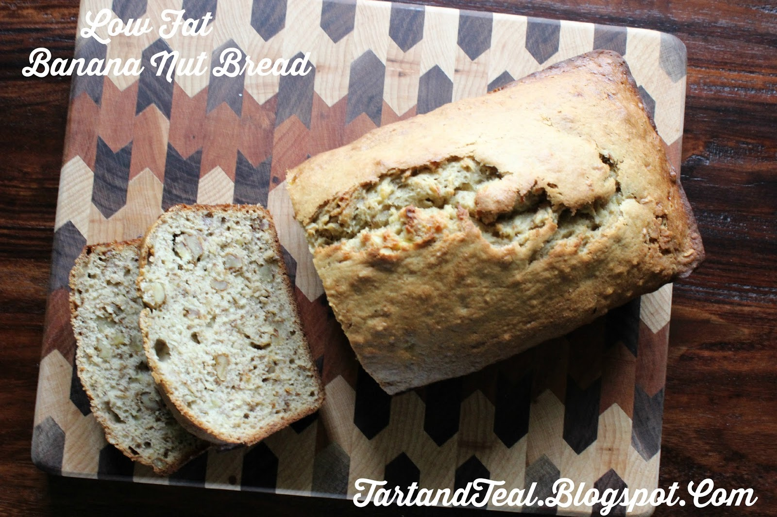 Tart and Teal: Low Fat Banana Nut Bread