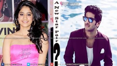 Sridevi's Daughter Jhanvi Kapoor starting acting With Dulquer Salmaan?