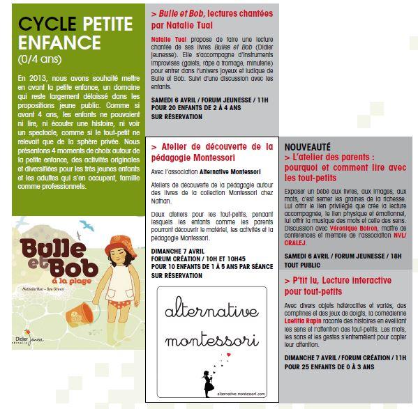 Le blog de bulle et bob et cie salon du livre de bordeaux for Salon petite enfance 2017