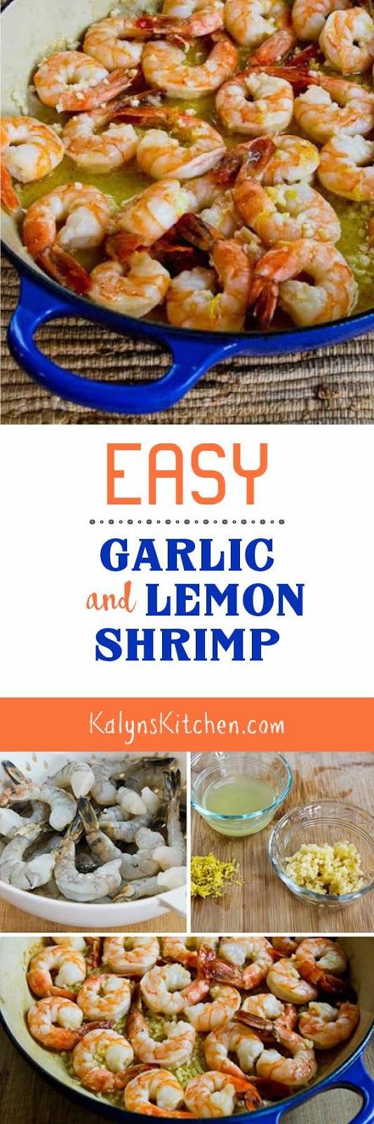 Easy garlic lemon shrimp recipes