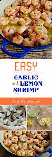 Easy Low-Carb Garlic and Lemon Shrimp [KalynsKitchen.com]