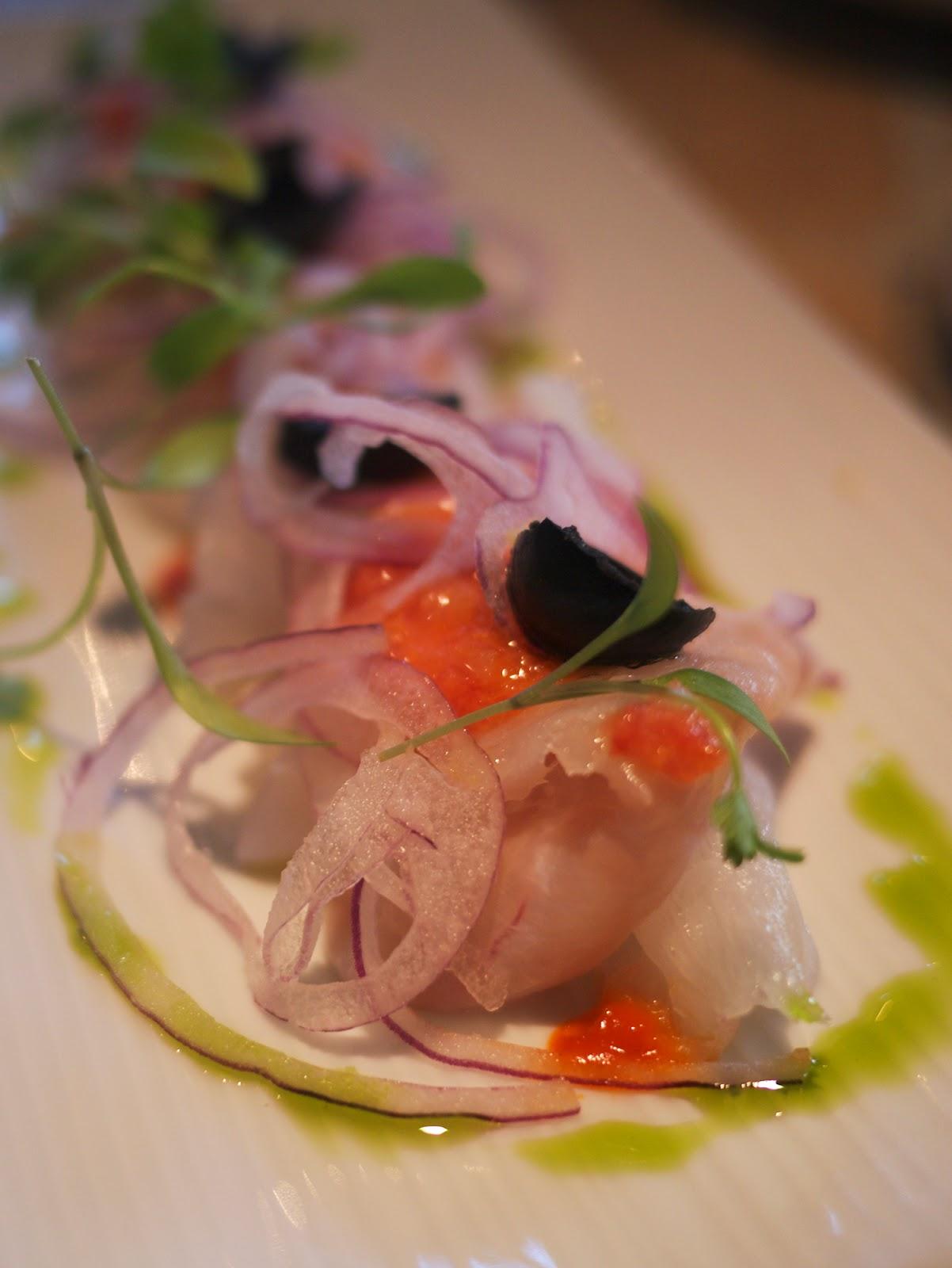 Bravas Tapas restaurant St Katherine Docks London Cod Esqueixada