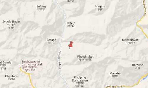 Sindhupalchowk_earthquake_epicenter