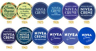 Histoire crème Nivea Evolution