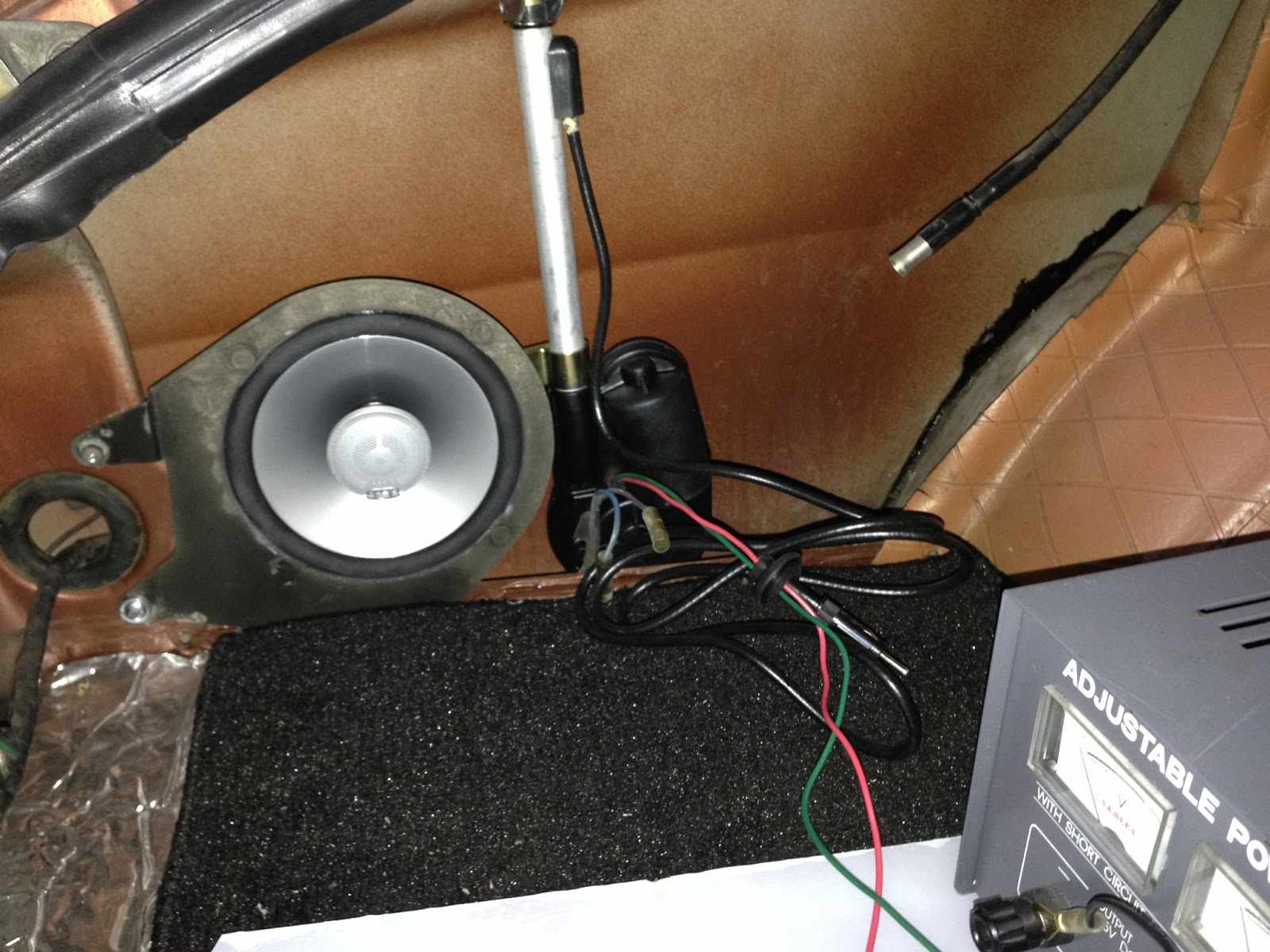 240z Antenna Replacement with a semi-automatic Harada MQ-1 | A 240Z ...