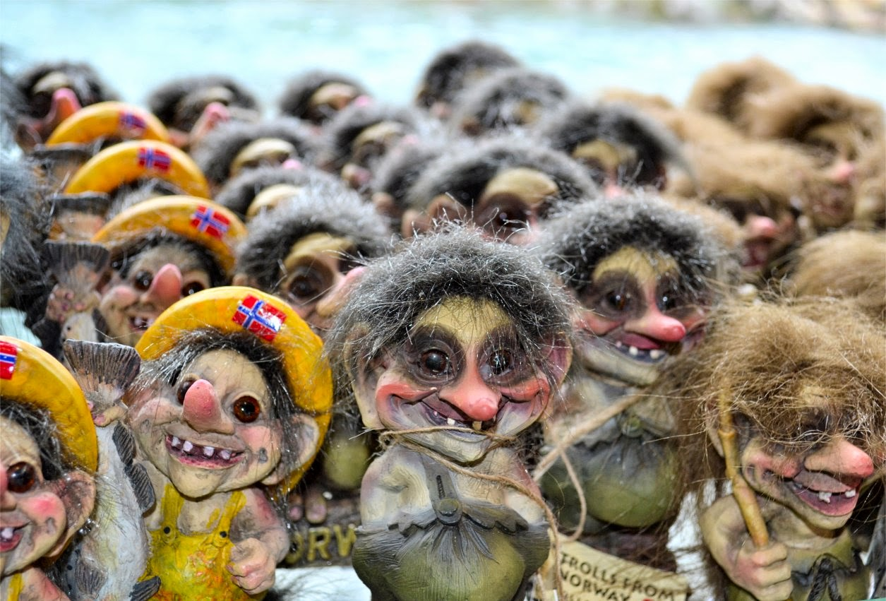Norwegian Trolls (Own photo)