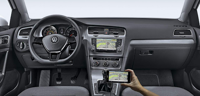 VW Golf 1.6 MSI Flex 2016 - interior