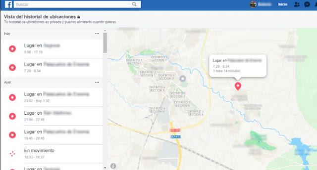 فيسبوك يشارك معك رابط سيأخدك إلى جميع المواقع التي زرتها وقام بتسجليها عن مع إمكانية مسحها 1.jpg