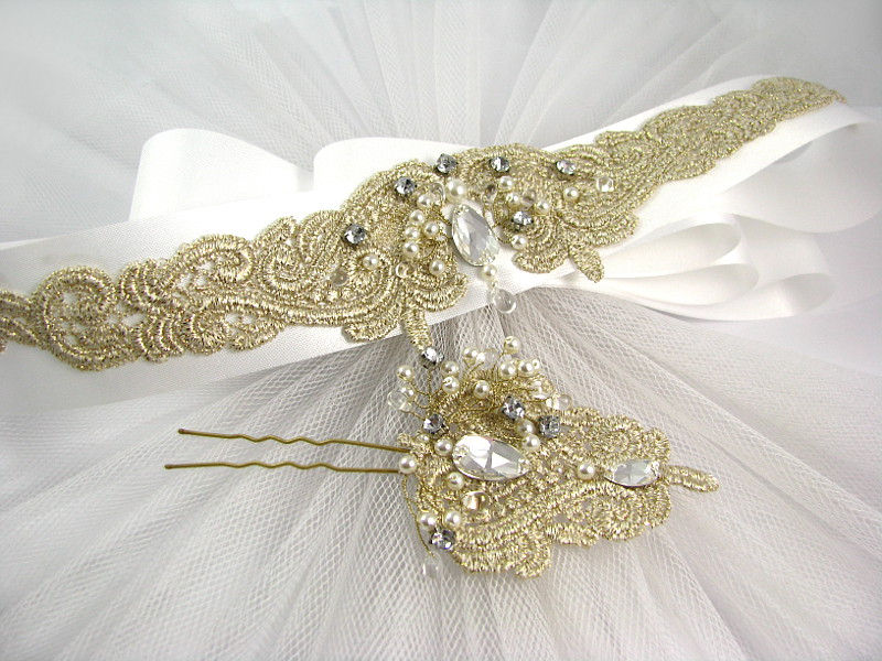 Pas do sukni ślubnej