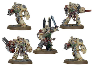 Warhammer 40k Dark Vengeance box set - Deathwing Terminator Squad