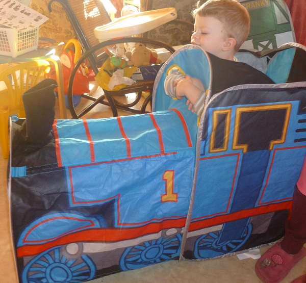 I was impressed at how well thought out it is as a play structure because there is so much to do. It really is a Thomas AND FRIENDS tent too because you ...  sc 1 st  Madhouse Family Reviews - Blogspot & Madhouse Family Reviews: Thomas u0026 Friends 4-in-1 Pop Up Play Tent ...