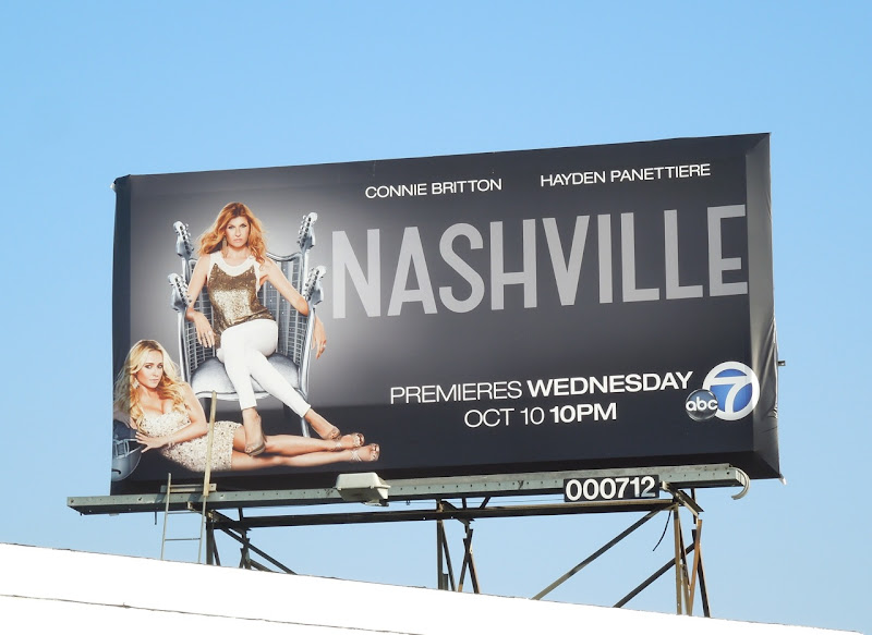 Nashville season 1 billboard