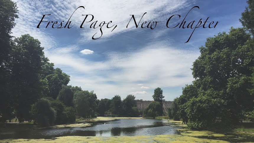 Fresh Page, New Chapter