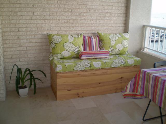 T preguntas ideas para pintar o decorar el ba l sof de for Como remodelar una terraza
