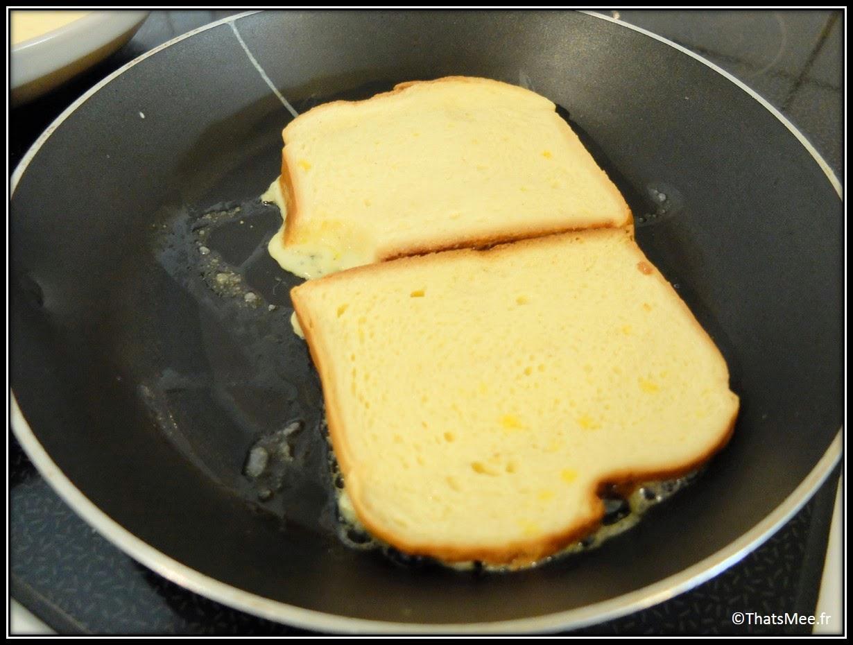 Recette brioche façon pain perdu poele téfal