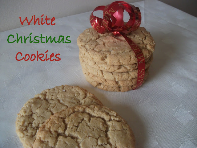 White Christmas Cookies
