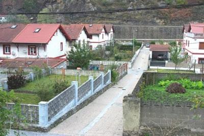 Mieres, Bustiello, viviendas