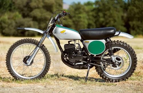 Racing Caf U00e8  Honda Cr 125m Elsinore 1974