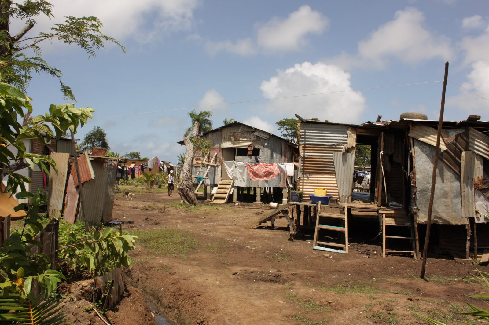 Poverty in villages of Fiji