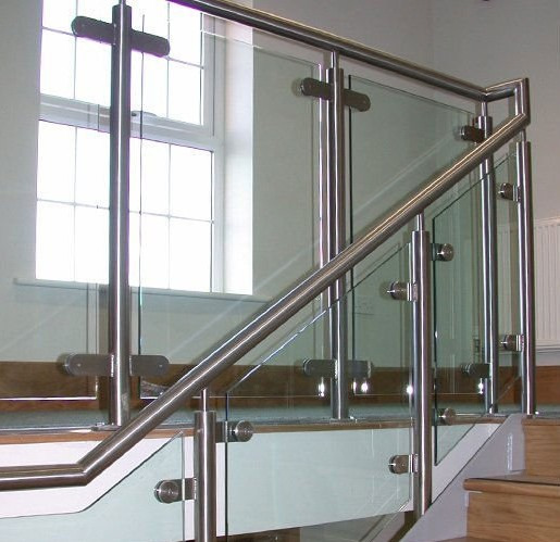 ... servicing. Get stainless-steel fences for your stairways these days