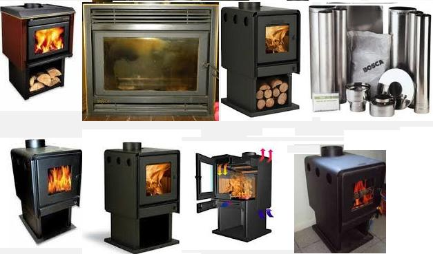 Fotos de chimeneas estufas a le a bosca precios for Estufas amesti precios