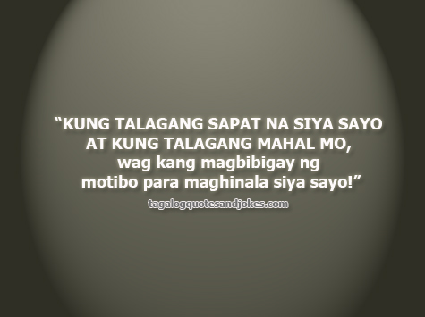 Bitter Tagalog Love Quotes 4