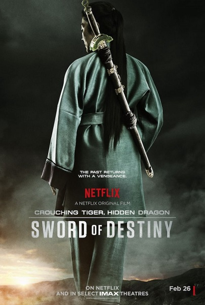 Film Crouching Tiger, Hidden Dragon: Sword of Destiny 2016 Bioskop