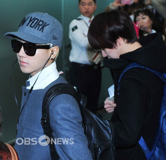 Foto Terbaru Super Junior Bandara Incheon 17