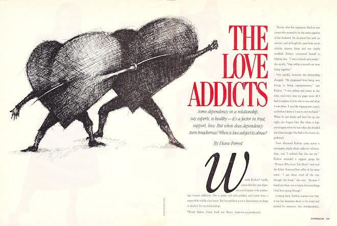 """The Love Addicts""  Expressions Magazine, Toronro Canada 2015"
