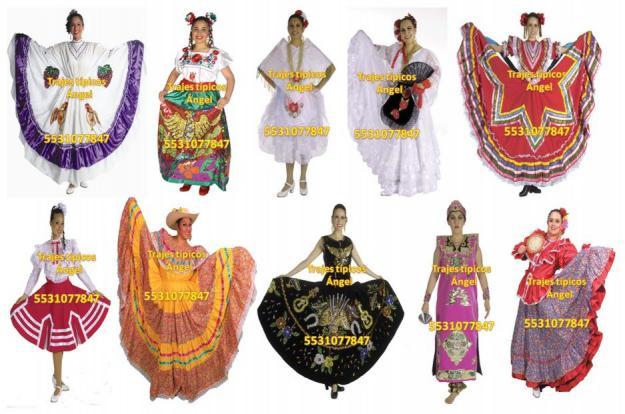 Trajes regionales de mexico para mujer - Imagui