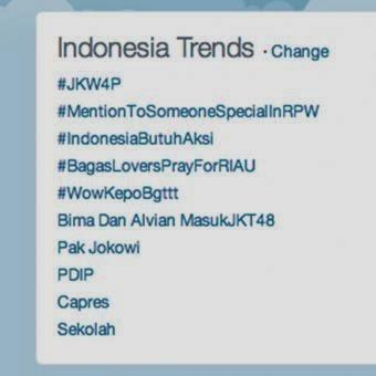 #JKW4P Trending Topic