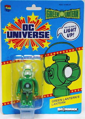 San Diego Comic-Con 2011 Exclusive Green Lantern Movie Light-Up Lantern 100% Be@rbrick in Packaging by Medicom & Diamond Comics
