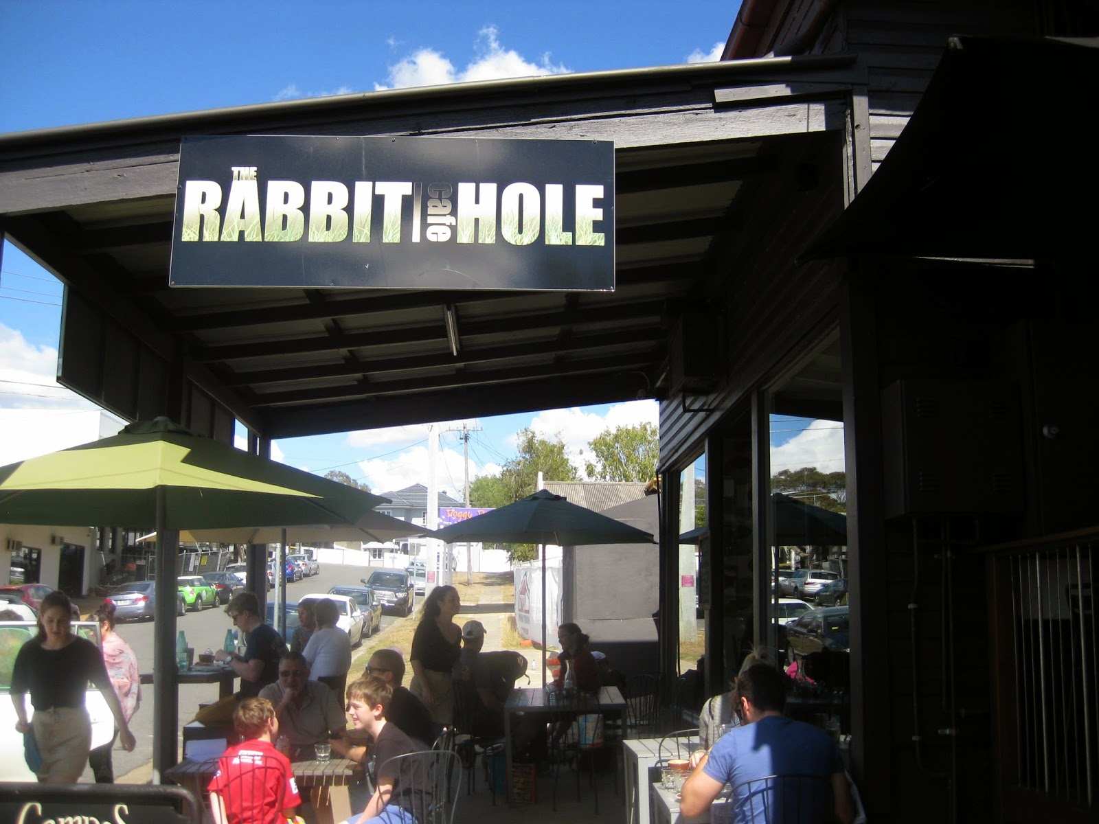 Cassie Cakes Review of The Rabbit Hole Cafe