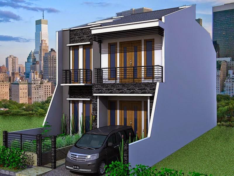 Desain Rumah Tebaru Desain Rumah Minimalis 2 Lantai Type 36 72
